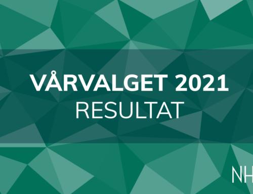 Valgresultater Vårvalget 2021