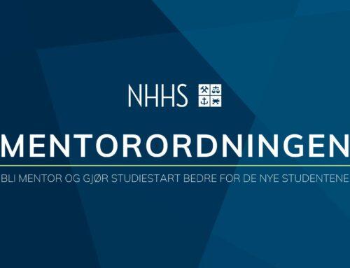 Mentorordningen NHHS rekrutterer!