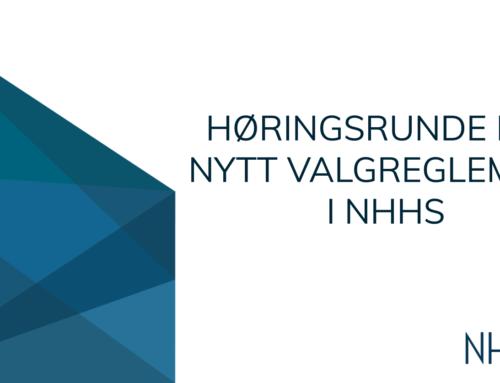 Invitasjon til høringsrunde for nytt valgreglement i NHHS
